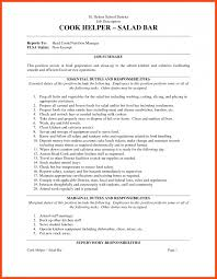 Prep Cook Resume Sample prep cook resume program format 20