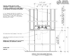door header detail vibrant design how to frame a garage