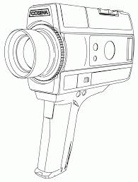 Small Picture SUPER 8 LARGE HAND CAMERA COLORING PAGE Wecoloringpage