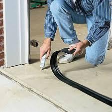 garage door floor sealGarage Door Threshold Seal 18 ft  Home Maintenance  Home