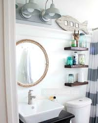 nautical bathroom furniture. this small nautical bathroom features a lot of great diy decor ideas http furniture