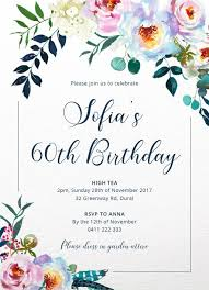 60 birthday invitations 60th birthday invitations designs by creatives printed by paperlust