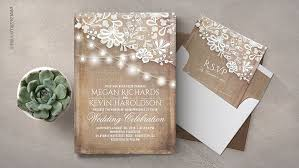 Burlap And Lace Wedding Invitations Read More Rustic Burlap String Lights Lace Wedding Invitations