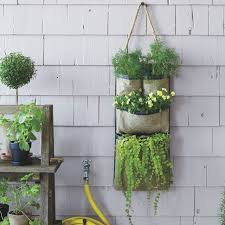 hanging bag planters west elm for wall outdoor plans 7