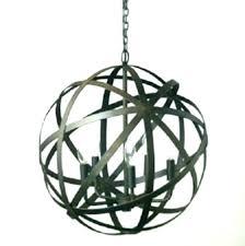 large metal orb chandelier strap aged black and similar wooden garden steel world market ndelier fixer
