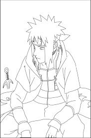 Coloriage Naruto Shippuden Minato