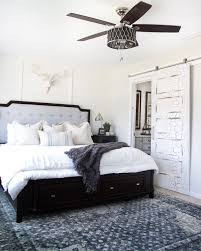 rustic modern master bedroom reveal sources blesserhouse com a plain white