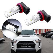2018 Toyota 4runner Fog Light Bulb Size Details About 2pcs 12v High Powered Luxeon Led Fog Lights Bulbs For 2003 2019 Toyota 4runner