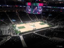 Fiserv Forum Section 210 Milwaukee Bucks Rateyourseats Com