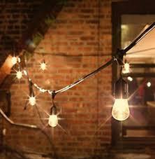 commercial patio lights. 15 Bulb Strings Vintage Style Outdoor String Light Commercial Patio Incandescent 11W S14 Bulbs 48 Feets E27 Lights