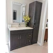 42 Step Grey Bathroom Vanity With Matching Linen Tower From The Build Collection Bathroom Furniture Buy Bathroom Vanity 42 Bathroom Vanity Bathroom Furniture Product On Alibaba Com