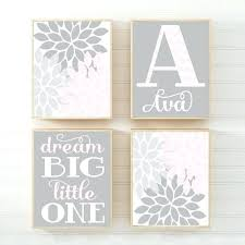 pink and gray nursery decor pink gray nursery girl elephant nursery wall art baby by pink and gray baby shower table decorations