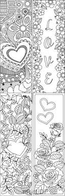 coloring book markers unique color your own bookmarks free printable bookmarks for coloring