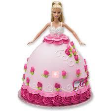 Barbie Cake Online Barbie Doll Cake Barbie Birthday Cake