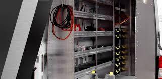plumbing van shelving racking