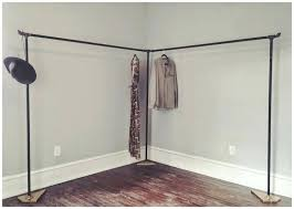 diy clothes rack cast iron pipe clothing rack diy wooden clothes hanging rack