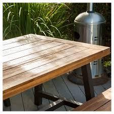 Rustic wood patio furniture Luxury More Target Carlisle 3pc Rustic Wood Patio Dining Set Brownblack