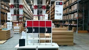 shelving unit by ikea kallax shelf high gloss white
