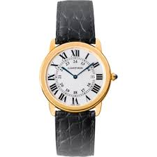 mens cartier watches the watch gallery cartier ronde solo de cartier quartz steel and gold silver dial ladies watch w6700455