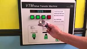 how to use the vtm machine