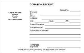 Proof Of Receipt Template Donation Receipt Template Using The Donation Receipt