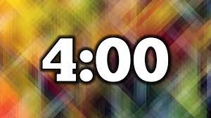 Timer 4 Min 4 Minute Timer