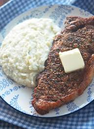 juicy and tender air fryer steak keto