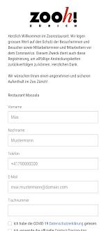 Gästedaten-Erfassung kostenlos per QR-Code - Lunchgate AG