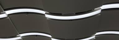 Acoustic Ceiling Lights Curve Acoustic Ceiling Lighting System Shenzhen Guangdong