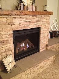step by step pictorial how to stone fireplace dyi project