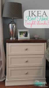 Take a $35 IKEA Rast dresser and a little molding, paint
