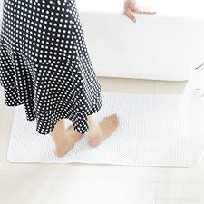 pauwer extra long non slip bathtub mat safe clean anti bacterial machine washable superior grip
