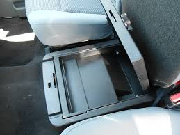 2016 2016 f250 f350 console vault under front seat safe