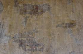 Faux Painting Ideas - Burlap Aged Plaster Faux Finish Painting Effects -  Aged and Degraded Plaster