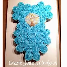 Lizzie Jeans Cookies Sweet Onesie Cupcake Cake Baby Boy Shower