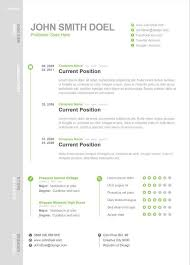 One Page Resume Template Inspiration Modern One Page Resume Template Creative Resume Templates
