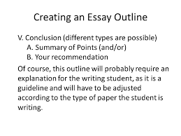 advanced english writing ppt video online  creating an essay outline