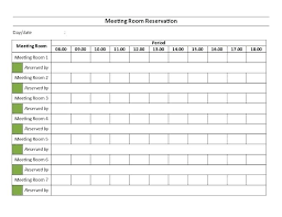 Meeting Room Scheduler Template Conference Room Schedule Template Agreenishlife Co