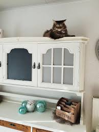 Ich Häng Hier Nur So Rum Katze Esszimmer Weiß