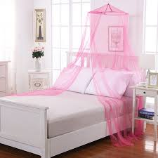 Kids Round Collapsible Wire Hoop Mosquito Net Bed Canopy
