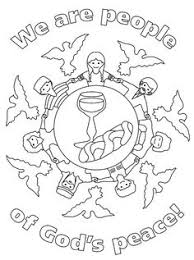 peace coloring pages for kids