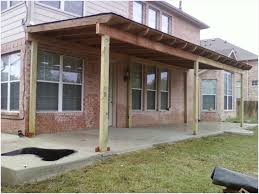 patio cover plans diy inviting lean to shed roof attached to garage carport diy would