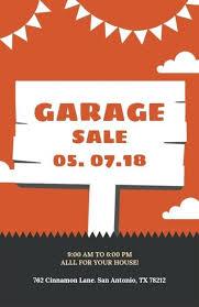 Yard Sale Flyer Template Word Inntegra Co