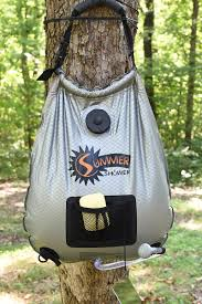 advanced elements summer shower or solar outdoor shower for camping