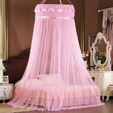 Princess Canopy Bed with little girl canopy bed curtains with ...
