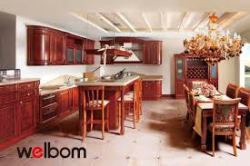 Made In China Kitchen Cabinets Luxury Solid Wood Kitchen Cabinet Lh Sw032 On Aliexpress Sell