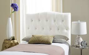 white tufted headboard. Wonderful Headboard Axel White Tufted Headboard Shop Safavieh SAFAVIEH Inside Headboard D