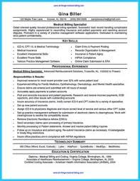 medical billing resume sample will give ideas and provide as references your own resume there are so many kinds inside the web of resume sample for medical medical billing and coding resume sample