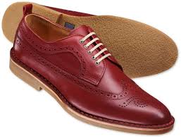 leather brogues charles tyrwhitt red warwick brogue shoes