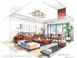 interior designers drawings. Drawing For Interior Design Drawings Outstanding Modern  Designers
